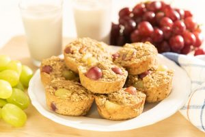 Grape-Oatmeal Cups